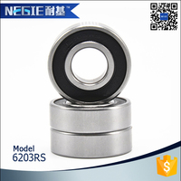 China supplier Cixi Negie manufacture high speed precision motorcycle engine bearing 6001/6201/6203