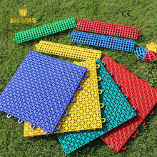 outdoor sports PP Removable Interlocking Plastic Flooring