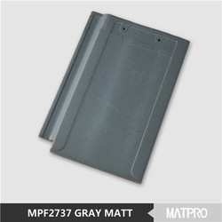blue gray synthetic terracotta chinese clay shingle roof tiles