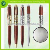 2014 High-end gifts wooden pen sets|wooden pen case|wooden pen holder