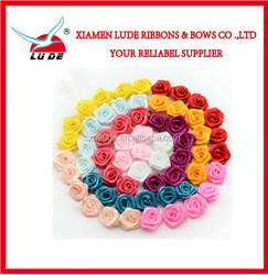 Beautiful handmade ribbon rose for wedding decoration/valentine's day