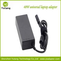 48w auto universal 110V-240V universal power adapter 9v 10.5v 20v with 8 tips
