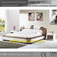 Newest top sell modern soft bedroom black