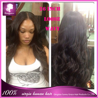 Should be treated as if it's growing from your scalp human hair wig 100% unprocessed virgin brazilian full lace wig