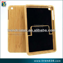 novel products mini laptop wood case for ipad mini