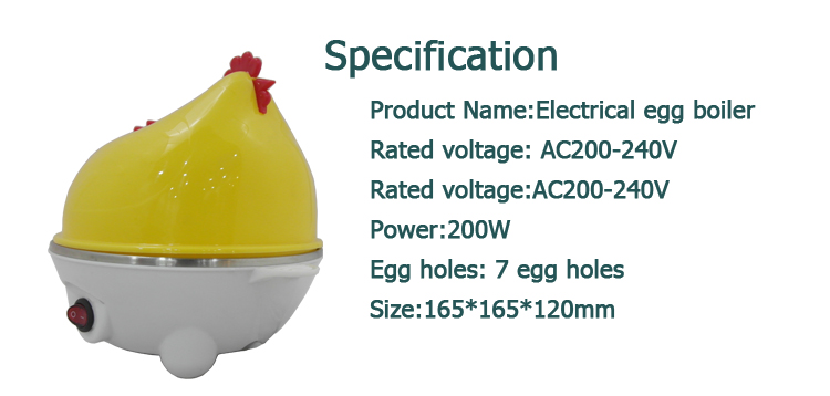 boiled egg cooker