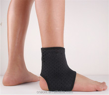 high quality hot selling sports breathable ankle wrap adjusatble high elastic ankle brace support