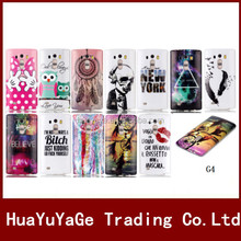 Luxury Colorful Pattern Soft TPU phone cases cover for LG G4