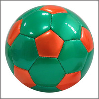 Official size 2 High Quality PVC Leather mini football with hanging PVC bladder soccer ball/beautiful football