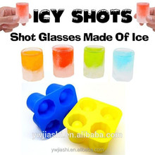 Wholesale Food Grade Silicone Ice Glass Shot