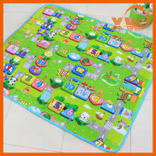 Children toys kids soft cotton cushioned play baby crawling floor mat
