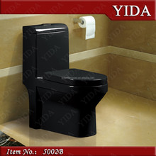 five star hotel bathroom black wc, sanitary ware product china wc, wc toilet prices