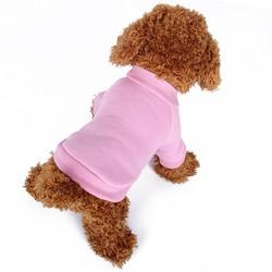 Blank Dog Pajamas Short-Sleeved Chihuahua Overal Bangkok Wholesale Dog Clothes Bulk For Pet Grooming Outfit Dog T Shirt