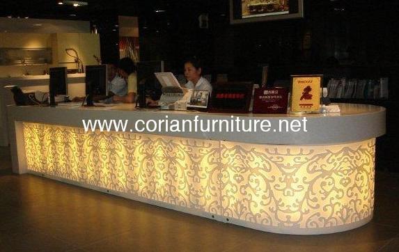 새로운 디자인 주도 조명 공공 장소 사용 긴 바 테이블-바 테이블 ...