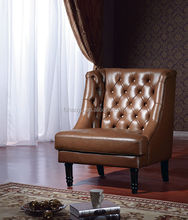 coffee shop leather chair, brown leather tub chair