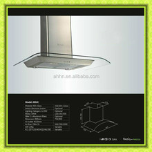best materialin big sale copper kitchen island range hood