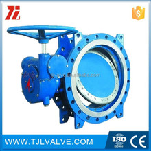 triple type wcb/stainless steel grooved end butterfly valve water use ce cert