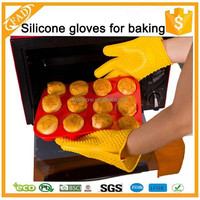 Trade Assurance Supplier High Temperature Heated Customize Silicone Rubber Gloves