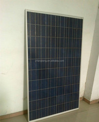 Monocrystalline Silicon Material and 1640mm*992mm*40mm Size 12V Solar Panel 220W-250W