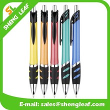 Smooth writing ball pens plastic pens with black clik pen