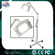 High-quality folding square magnifying glass lamp, Clamp Mount Magnifier Lamp Light Magnifying Glass,Magnifier Glass Lens Light