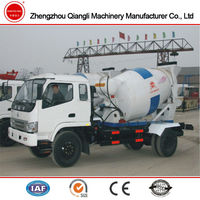 Foton 3m3 Concrete Mixer Truck China