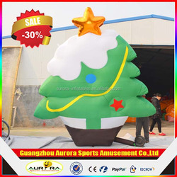Factory lower price inflatable christmas tree cheap on sale