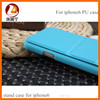 High-grade PU leather with mirrow back cover mobile cell phone case for iphone 6