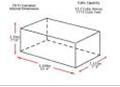 Corrugated plastic dividers for automotive parts