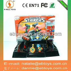 Electric Magnetic top toys with combat dish