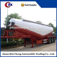 China hot sale bulk cement trailer /used bulk cement tanker truck