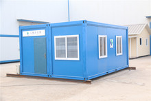 Good insulated Estate Prefab 20ft office container house shanghai