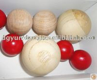 Teak Wood ball with various size