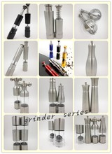 Stainless steel manual Thumb grinder mill