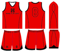custom made basketball uniform no moq with different name and number