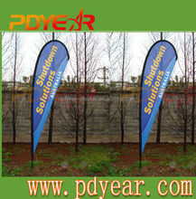 custom bow and teardrop flags& banners/ outdoor advertising flag
