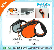 New design customized automatic dog leash retractable