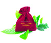 Customized Logo Wholesale colorful Eco-Friendly Velvet pouch / velvet jewelry pouch / velvet bag for Gift Jewelry Cosmetic