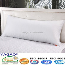 fashion long body pillow home use, king pillow hotel use, soft pillow
