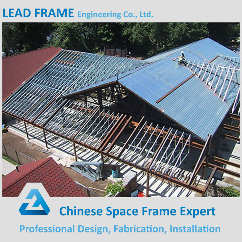 Light weight steel prefab roof trusses for sale buy for Prefab roof rafters
