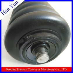 encapsulated roller hot sale impact conveyor roller