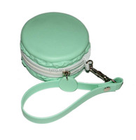top brand Hamburg shaped Silicone travel bag personalize silicone change purse