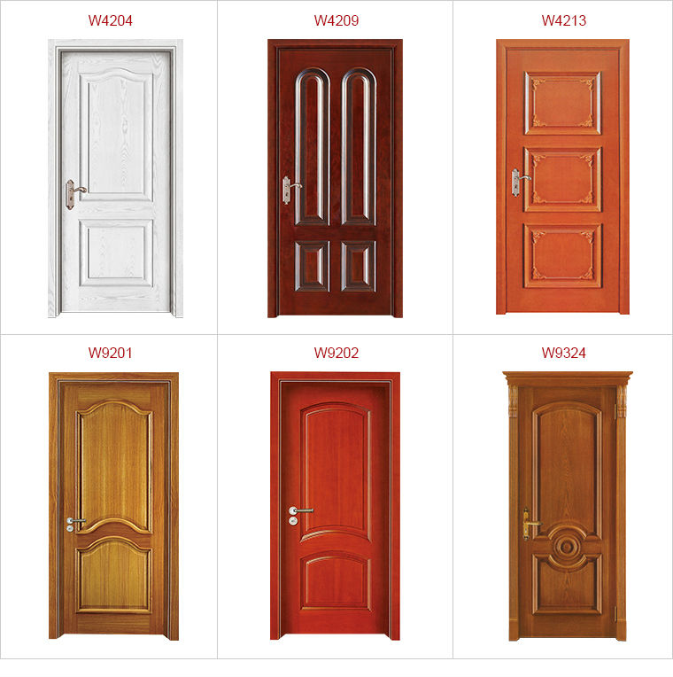 Wood single door design the image kid for Single door design