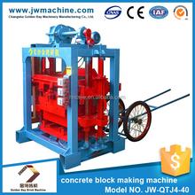 Mass supply 9.5KW 380V easy block making machine