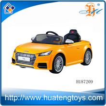 Rastar licensed 6V 7AH kids R/C+B/O ride on car baby sit car toys for sale