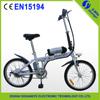 2015 hot sale motor kit battery 36v folding e-bike