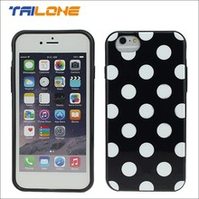 phone case manufacturing abs dot view case for iphone 6 case