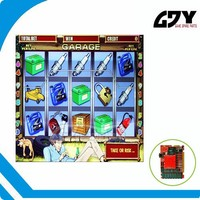 FRUIT COCKTAIL LUCKY HAUNTER CRAZY MONKEY ROCK CLIMBER SWEET LIFE RESIDEST GAR red board mega game board for casino game machine