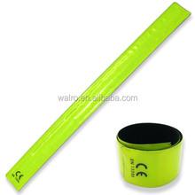Most popular custom reflective promotional slap bracelets