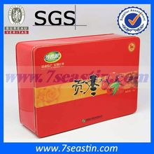 tin box sale, NO.2400 rectangular tin box with holes for gift/jewelry /food packing